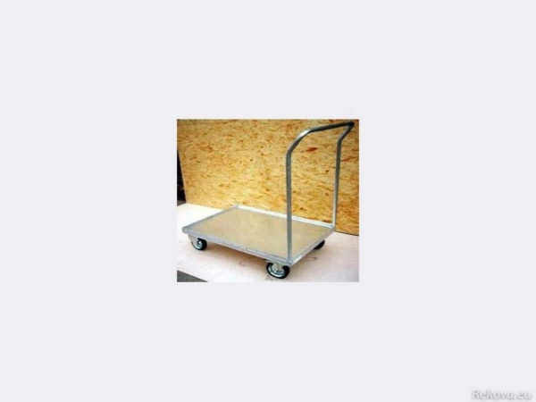 Manipulační vozík na přepravky 1000 × 700 mm na 350 kg KLT V 502.