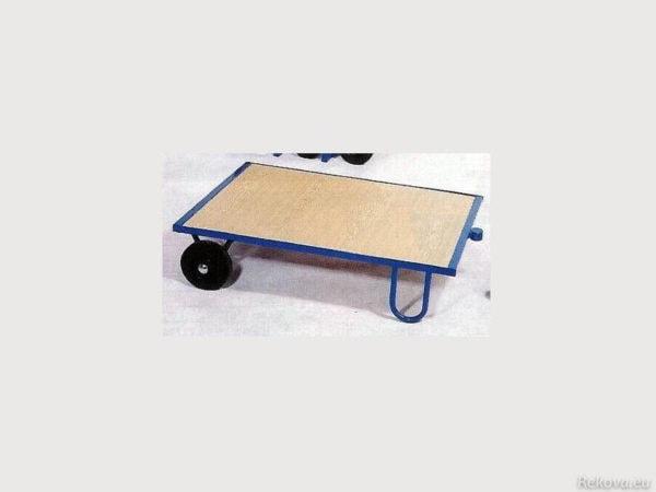 Manipulační vozík, pojízdná plošina 1200 × 800 mm, na 500 kg V 514.