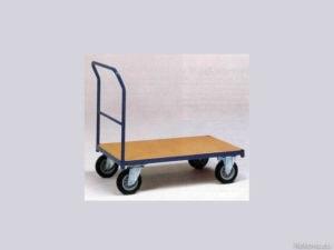 Manipulační vozík s čelem a madlem 1000 × 700 mm na 350 kg V 500.