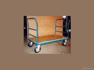 Manipulační vozík se 2 čely a madly 1000 × 700 mm na 350 kg V 501.