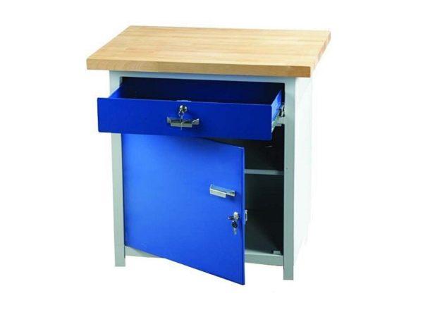 Český ponk, pracovní stůl PO 11 | 800 × 600 mm, výška 900 mm.