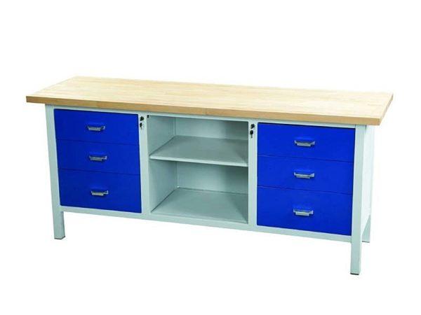 Český ponk, pracovní stůl PO 303 | 2000 × 600 mm, výška 900 mm.