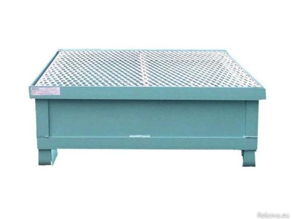 Záchytná vana pro 1 sud 750 × 750 × 350 mm ZV 101.