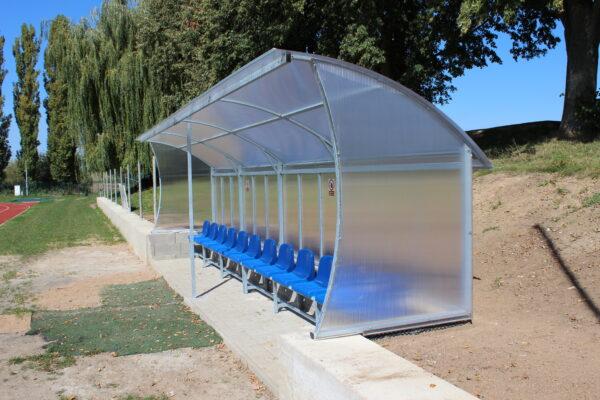 Zajištění bočního výhledu použitou tvarovou stojnou